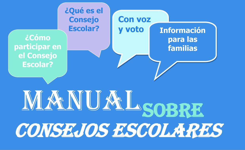 MANUAL ELECCIONES CONSEJO ESCOLAR DE CENTRO