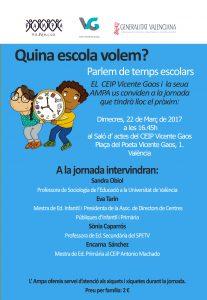 TEMPS ESCOLARS-Vicente Gaos vale