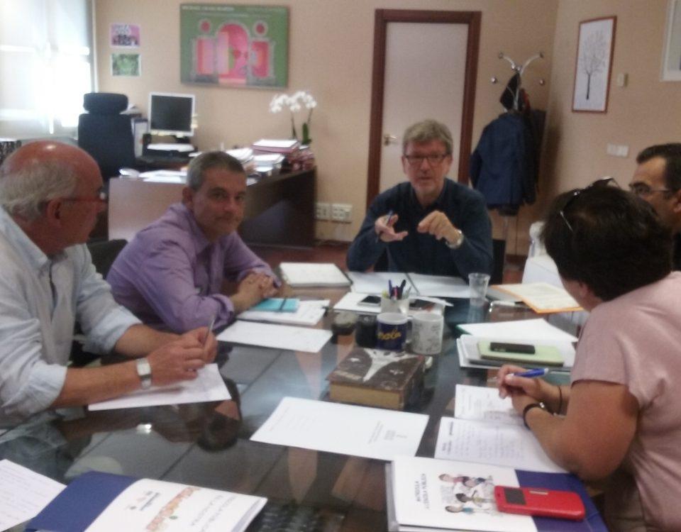 reunió amb Jaume Fullana 9-5-2017