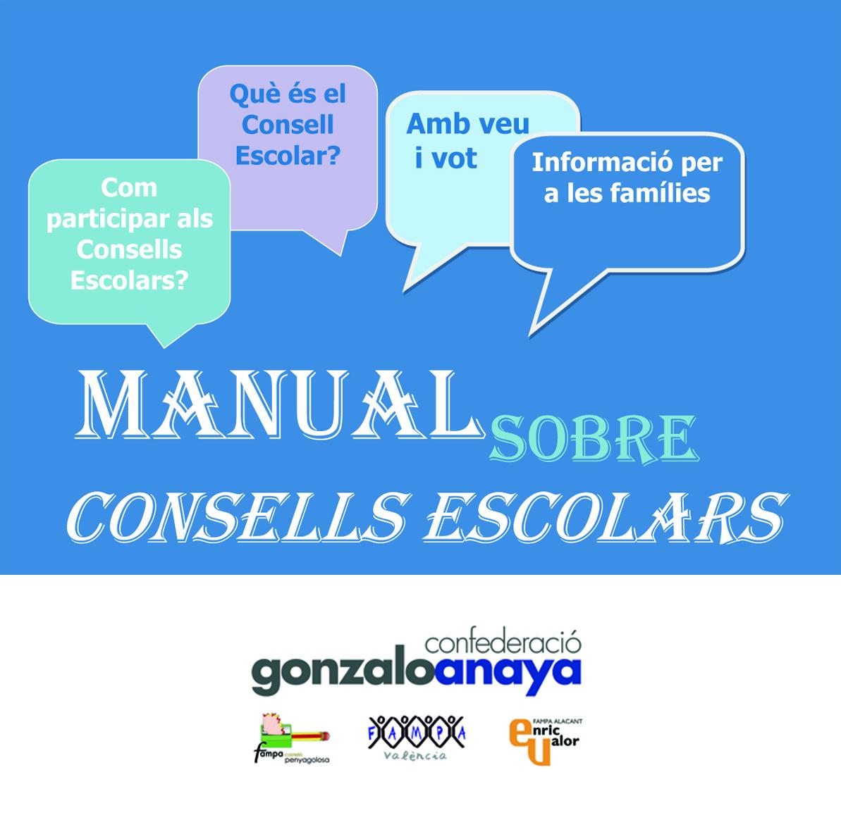MANUAL ELECCIONS CONSELL ESCOLAR DE CENTRE