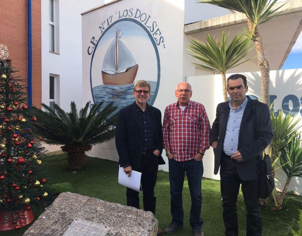 visita al CEIP Los Dolses