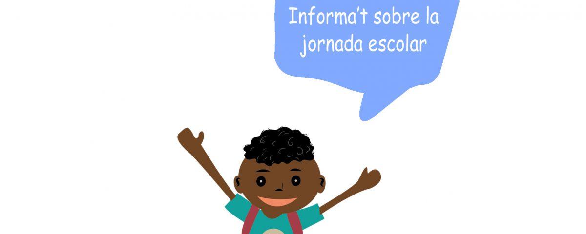 Portada informate jornada escolar 2018-val
