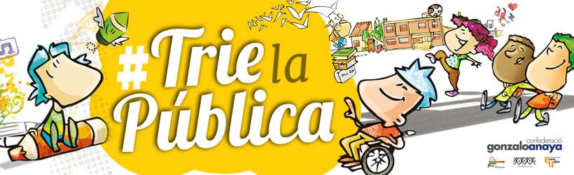 #Trielapública inclusiva